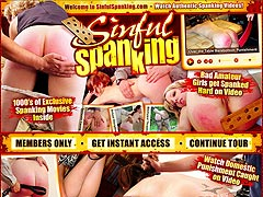 Sinful Spanking
